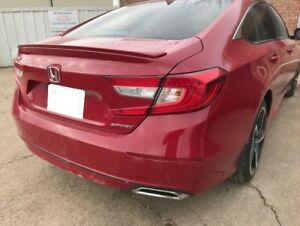 Pre painted Rear Spoiler Fit 2018 Honda Accord 4dr sport Package No Drill