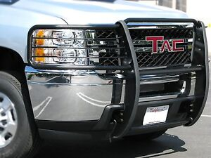 Tac 2011 2015 Ford Explorer Grill Guard Black Brush Nudge Push Bull Bar