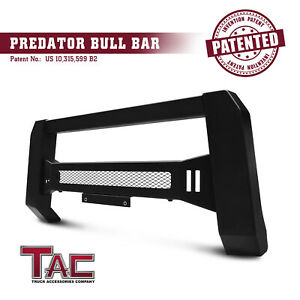 Mesh Modular Bull Bar For 2016 2021 Toyota Tacoma Grille Guard Front Bumper