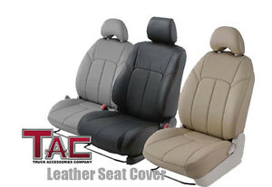 2007 2011 Custom Fit Toyota Camry Ce Le Hybrid Gray Leather Seat Covers
