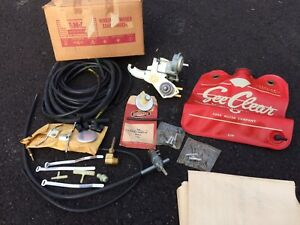 1960 Ford Edsel Nos Windshield Washer Pump Kit 60 See Clear Bag