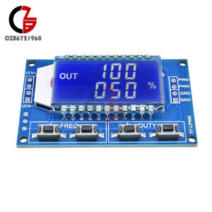 Signal Generator Pwm Pulse Frequency Duty Cycle Adjustable Module Lcd 1hz 150khz
