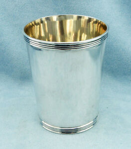 Rare Vintage Sterling Silver Mint Julep Cup By Frank Smith Silver No Monograms
