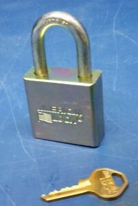 Lot Of 10 American Lock 1 1 8 Bump Stop Padlock Keyed Alike