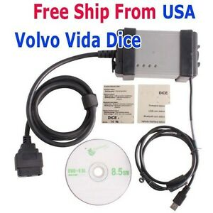 2014d Volvo Vida Dice Code Reader Obdii Diagnostic Tool Update By Cd From Usa