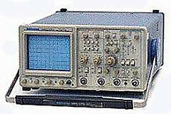 Tektronix 2465cts 4 Channel Oscilloscope 300 Mhz