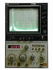 Hp Agilent Keysight 182t Spectrum Analyzer Mainframe Display