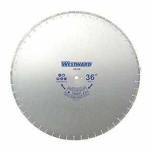 Westward 36 Wet Diamond Saw Blade Segmented Rim Type 29fz15