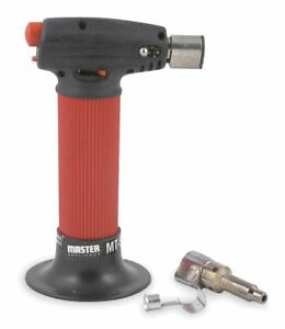 Master Appliance Microtorch Self Igniting With Safety Lock Hot Air Tip