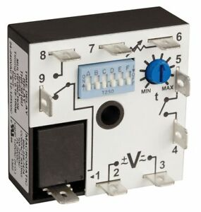 Macromatic Encapsulated Timer Relay Function On Delay Off Delay Interval