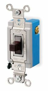Hubbell Kellems Wall Switch Switch Type 1 pole 3 Position Center Off Switch