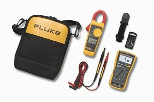 Fluke 117 323 Kit Digital Multimeter And Clamp Meter Combo Kit