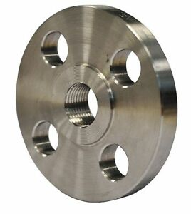 316 Stainless Steel Flange Fnpt 1 1 4 Pipe Size 4wpw1