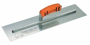 Kraft Tool Concrete Trowel Square 4 X 18 In Steel Cf227pf
