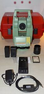 Leica Total Station Tcr1105 Calibrated Free Shipping