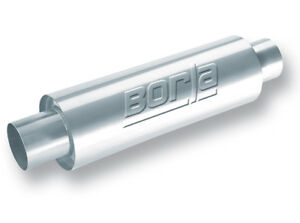 Borla 40085 Xr 1 Stainless Sportsman Racing Muffler Round 3 Inlet 3 Outlet