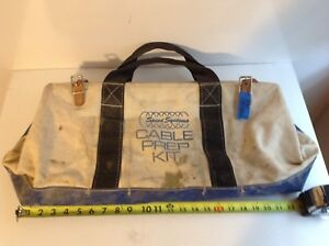 Speed Systems Cable Prep Kit Large Canvas Tool Bag