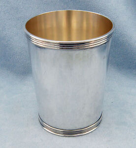 Vintage Sterling Silver Mint Julep Cup 3759 By Manchester No Monogram
