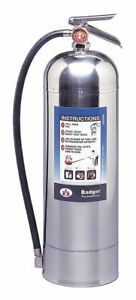 Badger Wp61 Fire Extinguisher Water 2 5 Gal A