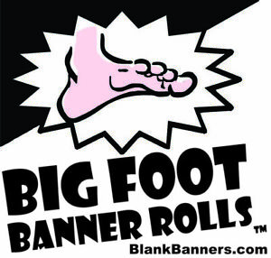 Big Foot Banner Roll Make Banners By The Foot 48 X 10 Yards Made In Usa 13oz