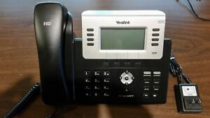 Yealink T27p Sip Voip Phone Excellent Cond With Power Adapter