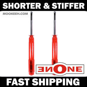 Mk1 Stiff Shorter Front Shocks For Lowered 87 93 Mustang V6 Gt Gs283