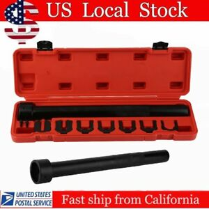 Inner Tie Rod Wrench Remover Removal Crowsfoot Tool With 7 Adapters Case Sk