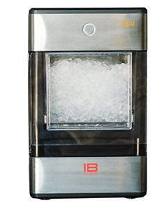 Opal Nugget Sonic Nugget Ice Maker Machine Portable Stainless Steel Undercounter