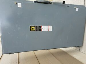 Sq D Square D H366 Fusible Safety Disconnect Switch 600amp 600volt 3pole