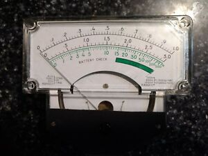 Hickok Multimeter Panel Meter Nos Vintage 680 349 6625 00 505 0838 Analog