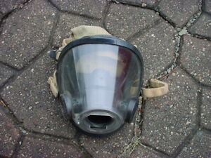 Scott Av3000 Face Mask Fire Dept Fireman Firefighter Scba Air Pack