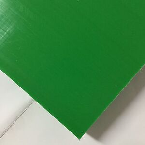 Hdpe high Density Polyethylene Plastic Sheet 1 X 12 X 12 Green Color