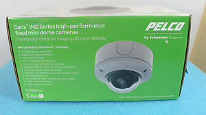 Pelco Ime219 1s Ip Sarix Minidome 2 Mp Poe 30 Ips for Parts Only Not Working