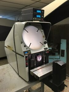 Baty Gagemaster Bench Top Optical Comparator With 10x Lens Dro