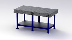 Welding Bench Jig Table Fixture Table Dxf Files 1750mm X 900mm Plans