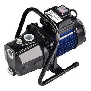 Goplus 1200w 1 Shallow Well Water Booster Pump Home Garden Irrigation 1000gph