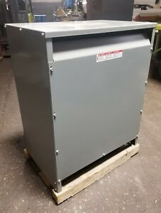 Square D Transformer 63t420hdit 63kva 480y 277h v 208lv New Opened Box