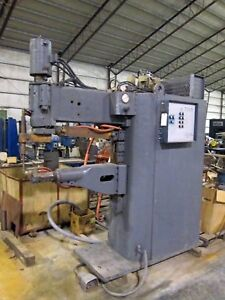 100 Kva Sciaky Press Type Spot Welder Model Pmco 2st