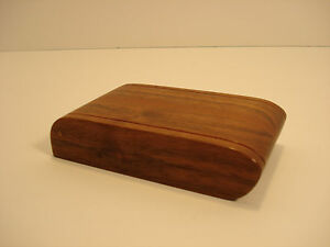 Business Name Card Holder Wood Desk Box Gary Cooper Cooperswood Studio Kentucky