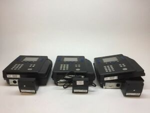 Lot Of 3 Kronos 4500 Time Clock 8602800 001 W Touch Id Fvd For Parts Or Repair