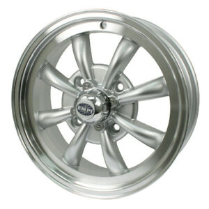 Gt 8 Wheel Silver With Polished Lip 5 5 Wide 4 On 130mm Dunebuggy