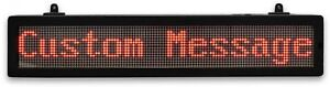 Led Scrolling Message Sign Store School Restaurant Programmable Bluetooth Corded
