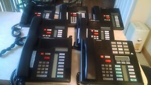 Lot Of 7 Nortel Norstar Meridian Business Phone System 1 M7310 6 M7208