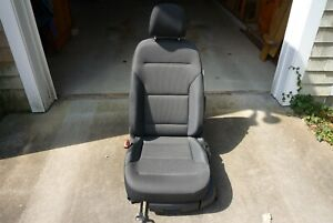 Vw Golf Left Front Gray Cloth Seat Mk7 2015 present