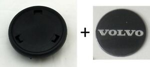 Nardi Steering Wheel Horn Button Type A Black With Volvo Logo For Gara Classic