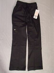 Chef Works Cpwo blk Women s Cargo Chef Pants Black Size Xs