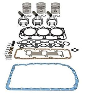 Ford 4000 4600 4610 4610su 4630 Inframe Engine Overhaul Kit 201 Cid Diesel