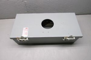Ge Te100j Circuit Breaker Enclosure Model 8 100a
