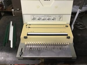 Ibico 400e Electric Comb Binder And Punch