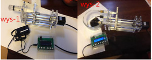 Diy Lab Injection Pump Syringe Controller Micro Injector Single Three Channels